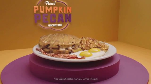 Dennys Pumpkin Pecan Pancake Meal TV Commercial Ad 2020, Youve Waited All Year