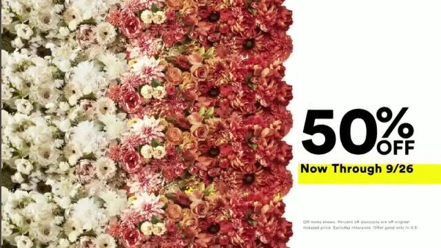 Michaels Lowest Prices of the Season Sale TV Commercial Ad 2020, Select Frames, Fall and Halloween D