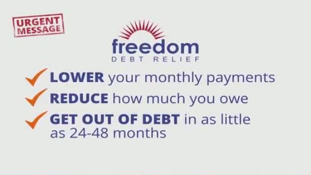 Freedom Debt Relief TV Commercial Ad 2020, Urgent Message