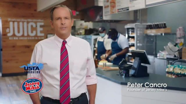 Jersey Mikes TV Commercial Ad 2020, USTA Foundation- Thank You