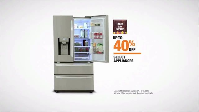 The Home Depot Labor Day Savings TV Commercial Ad 2020, Cool Drinks & Homemade Treats- L