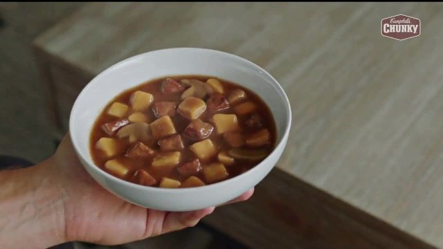 Campbells Chunky Soup TV Commercial Ad 2020, Crowded Field