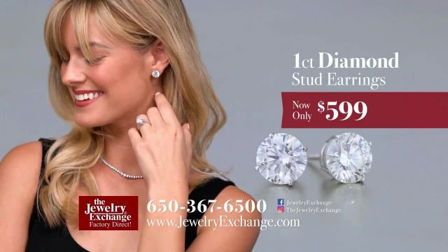 Jewelry Exchange TV Commercial Ad 2020, Timeless Gift Wedding Bands & Earrings