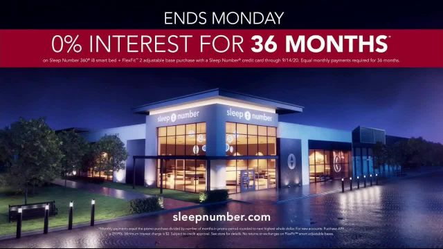 Sleep Number Biggest Sale of the Year TV Commercial Ad 2020, Final Days- Snoring- Save $1,000