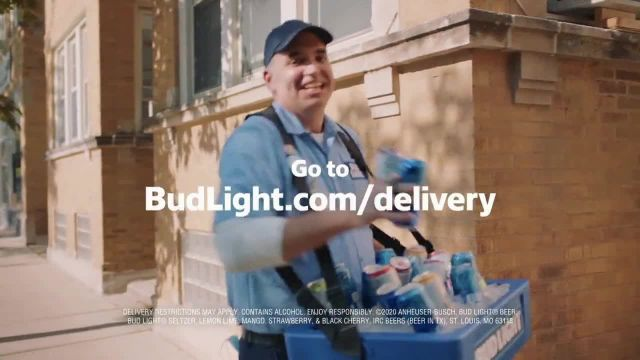 Bud Light TV Commercial Ad 2020, Beer Vendor Touchdown Dance