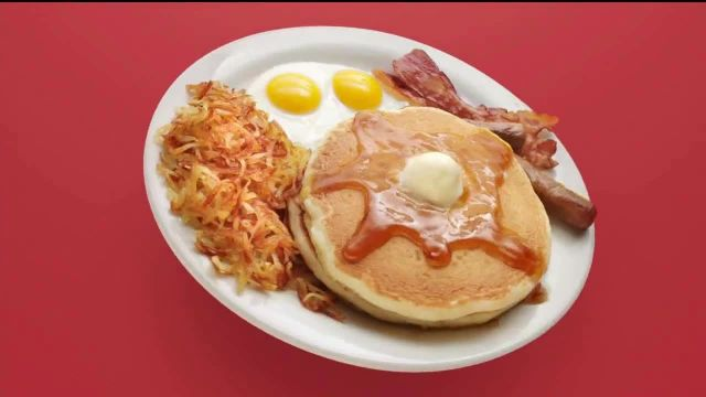 Dennys Super Slam TV Commercial Ad 2020, La comida perfecta