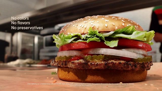 Burger King Whopper TV Commercial Ad 2020, 'Real Whopper- Free Delivery'