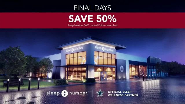 Sleep Number Biggest Sale of the Year TV Commercial Ad 2020, Save 50%- 24 Months