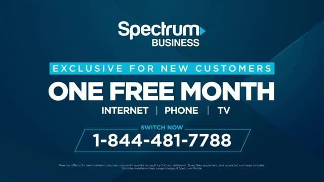 Spectrum Business TV Commercial Ad 2020, Doesnt Mean Back to Normal One Free Month