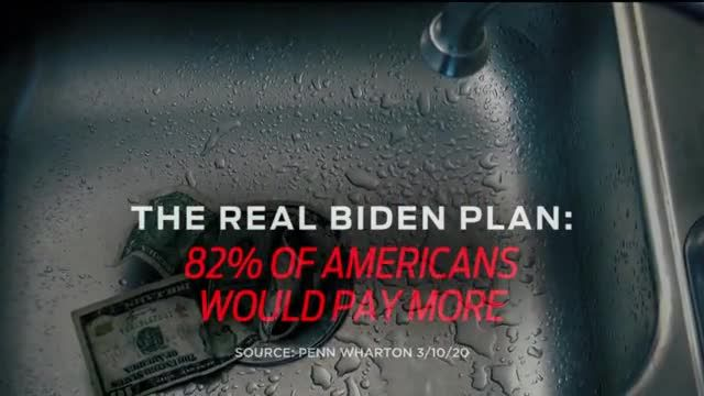 Donald J Trump for President TV Commercial Ad 2020, The Real Biden Plan