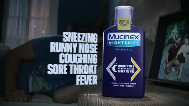 Mucinex NightShift Cold & Flu TV Commercial Ad 2020, Feel the Power of Relief