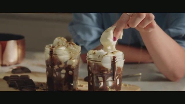 Baileys Irish Cream TV Commercial Ad 2020, S'mores Indoors- No Driving