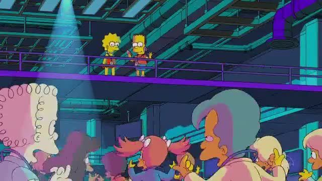 Disney+ TV Commercial Ad 2020, The Simpsons