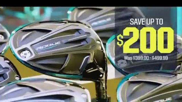 Dicks Sporting Goods TV Commercial Ad 2020, Golf Galaxy Save up to $200