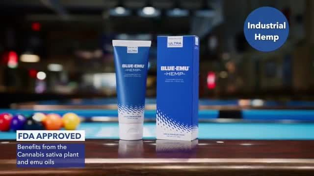 BlueEmu Ultra Hemp TV Commercial Ad 2020, Get Back in the Game' Featuring Janet Atwell
