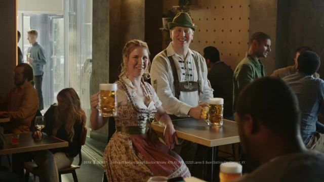 Jim Beam TV Commercial Ad 2020, Something Different