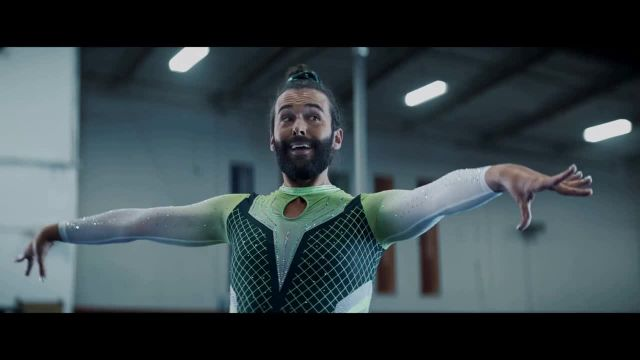 Uber Eats TV Commercial Ad 2020, Splitsies' Feat Jonathan Van Ness, Simone Biles, Song by C+C M