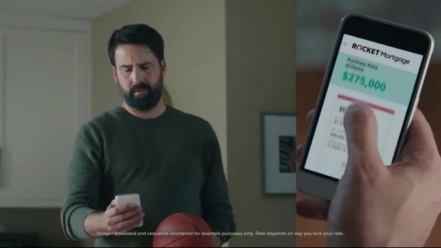 Rocket Mortgage TV Commercial Ad 2020, No Ball in the House' Featuring Larry Fitzgerald Jr
