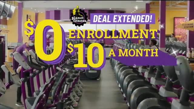 Planet Fitness TV Commercial Ad 2020, No Enrollment Fee- Extended