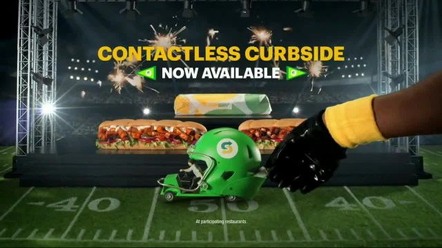Subway TV Commercial Ad 2020, Footlong Season- Contactless Curbside Pickup