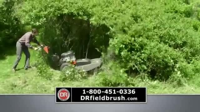 DR Power Equipment Field and Brush Mower TV Commercial Ad 2020, Job Done Right