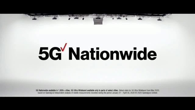 Verizon 5G TV Commercial Ad 2020, 5G Just Got Real