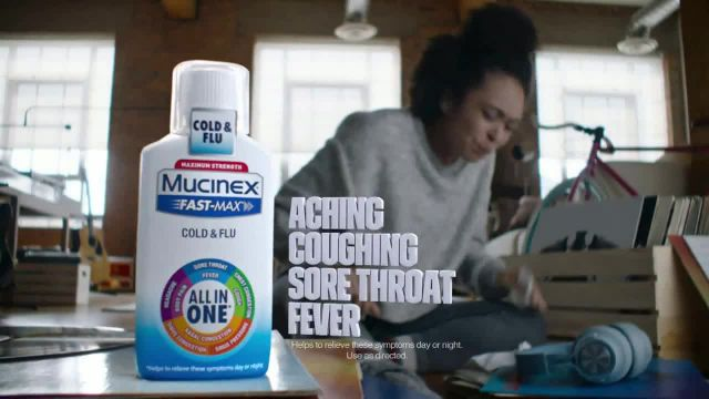 Mucinex Fast-Max Cold & Flu All-in-One TV Commercial Ad 2020, Feel the Power