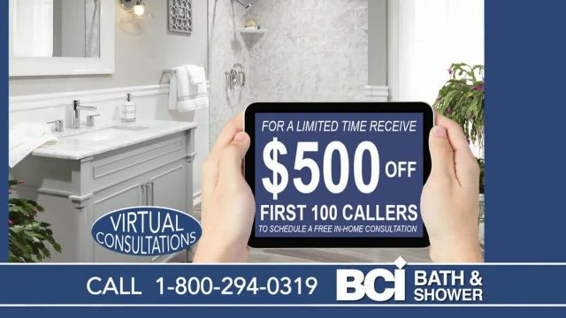 BCI Bath & Shower TV Commercial Ad 2020, Old and Worn Out $500 Off First 100 Callers