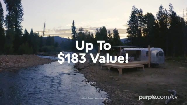 Purple Mattress Fall Sale TV Commercial Ad 2020, Fall Asleep Comfy Free Sheets and a Plush Pillow