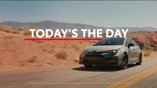 Toyota Today's the Day Event TV Commercial Ad 2020, Outsmart' Song by Bob Marley and the W