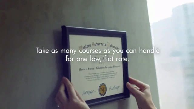 Western Governors University TV Commercial Ad 2020, Reaching for More Without Spending More