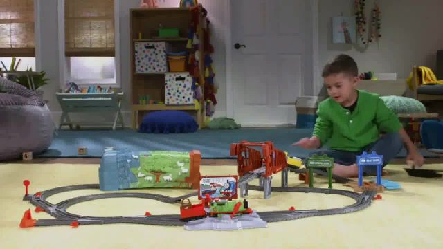 Talking Thomas & Percy Train Set TV Commercial Ad 2020, Look Who's Talking