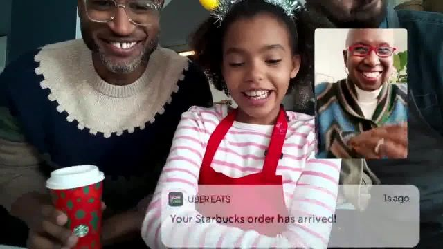 Uber Eats TV Commercial Ad 2020, Merry, Delivered