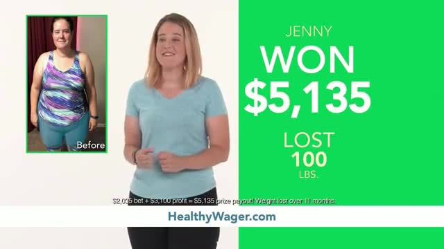 HealthyWage TV Commercial Ad 2020, Weight Loss Winners