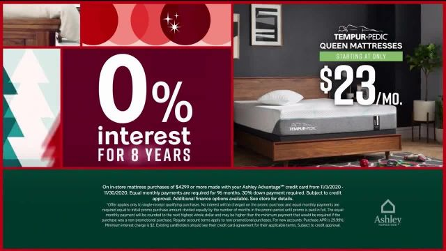 Ashley HomeStore Black Friday Sale TV Commercial Ad 2020, Mattress Doorbusters- $99