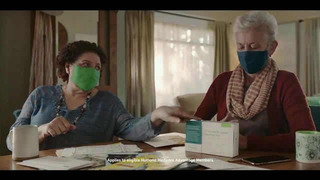 Humana TV Commercial Ad 2020, Test Kits