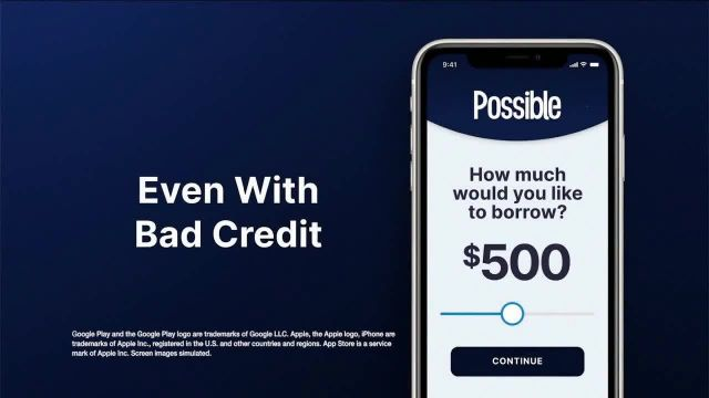 Possible Finance App TV Commercial Ad 2020, Side of the Road