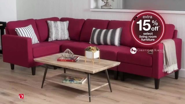 Overstockcom Early Black Friday Sale TV Commercial Ad 2020, Extra 15% Off Select Living Room Furnitu