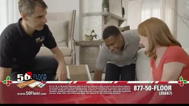 50 Floor 60% Off Sale TV Commercial Ad 2020, Holidays- Save an Extra $100 Featuring Richard Karn