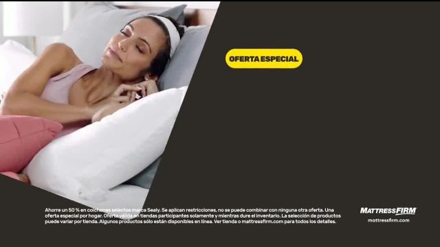 Mattress Firm Venta Anticipada de Black Friday TV Commercial Ad 2020, Ahorra hasta $500