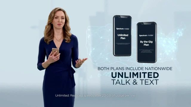 Spectrum Mobile TV Commercial Ad 2020, Switch and Save up to 40%