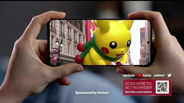 Verizon Live TV Commercial Ad 2020, Macy's Thanksgiving Parade