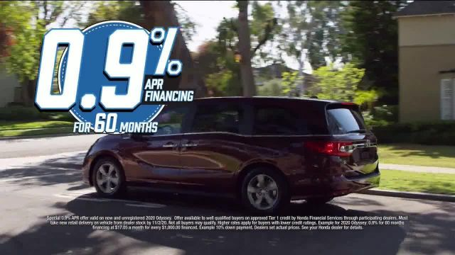 Honda Model Year End Sale TV Commercial Ad 2020, All in Stock- Odyssey