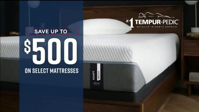 Ashley HomeStore Labor Day Mattress Sale TV Commercial Ad 2020, Save up to $500 & Free D