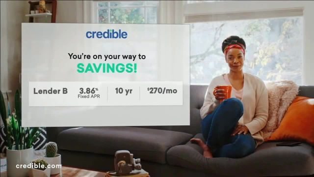 Credible TV Commercial Ad 2020, Refinance Your Student Loan