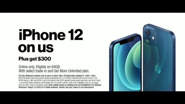 Verizon Black Friday TV Commercial Ad 2020, The 5G America's Been Waiting For- Incredible- iPho