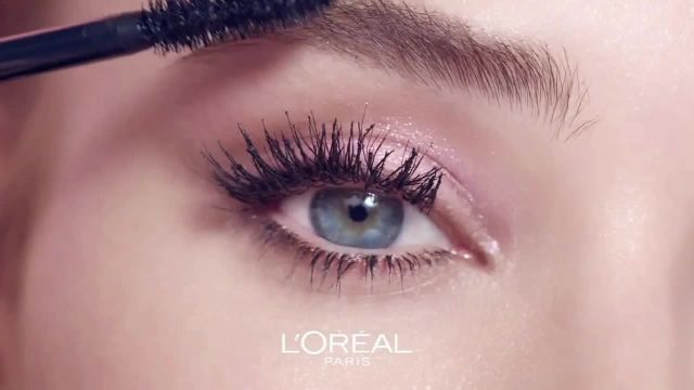 L'Oreal Paris Cosmetics Air Volume Mega Mascara TV Commercial Ad 2020, Mega Volume' Ft Kat