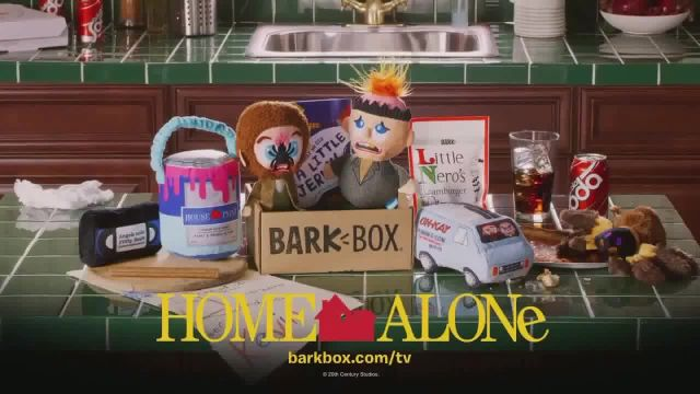 BarkBox Home Alone Box TV Commercial Ad 2020, Toys, Treats and Mischief
