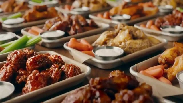 Buffalo Wild Wings TV Commercial Ad 2020, Marry a Honey BBQ Wing- Takeout and Delivery