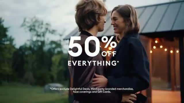 Banana Republic Black Friday TV Commercial Ad 2020, Love the Present' Song by the Heavy Duty Pr